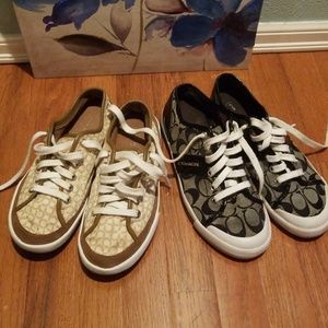 Lot of Coach Shoes